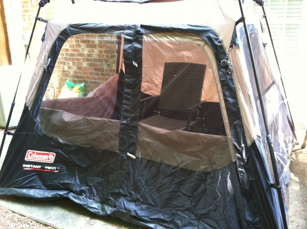 Coleman instant 4-man tent